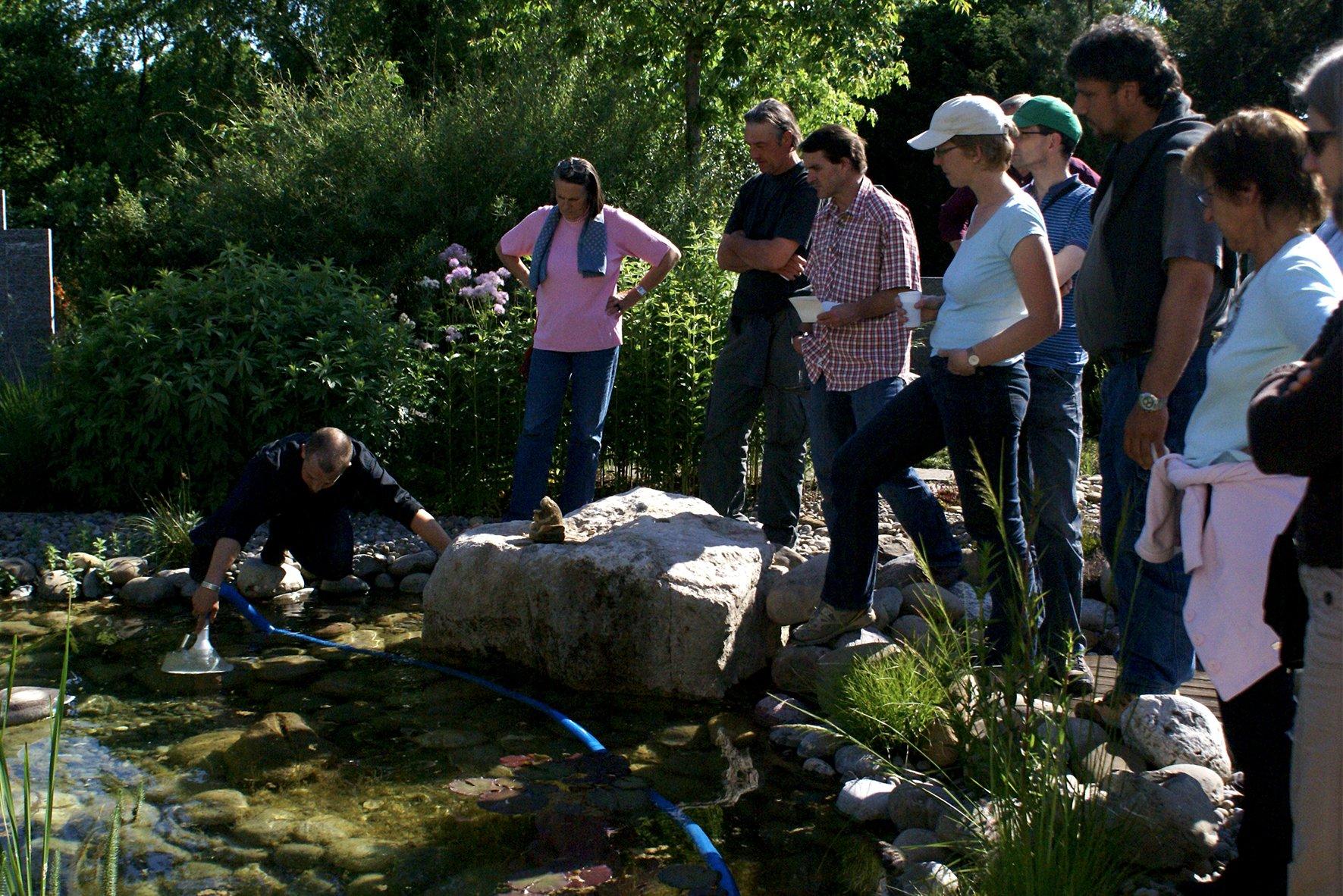 DIY Workshop Schwimmteich selber bauen Eigenbau Kurs