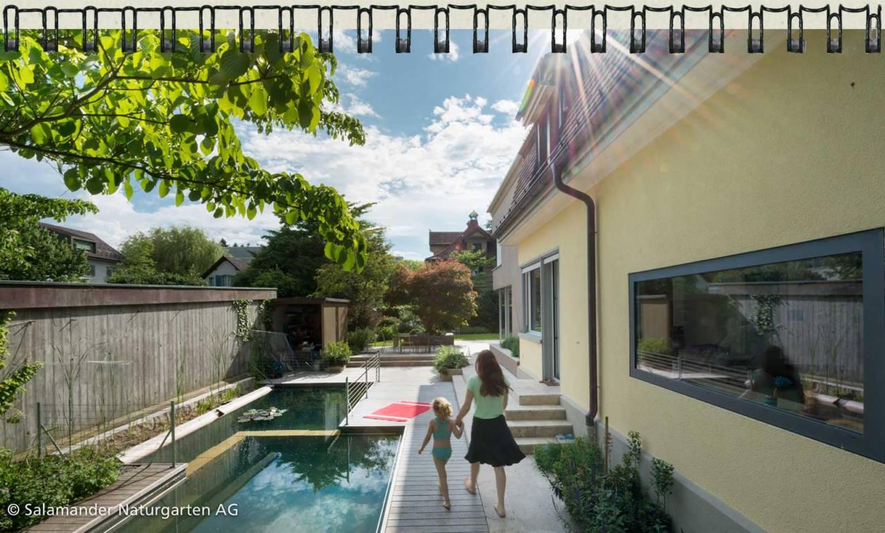 Ihr spezialist f r naturgarten schwimmteich naturpool for Gartennischen gestalten
