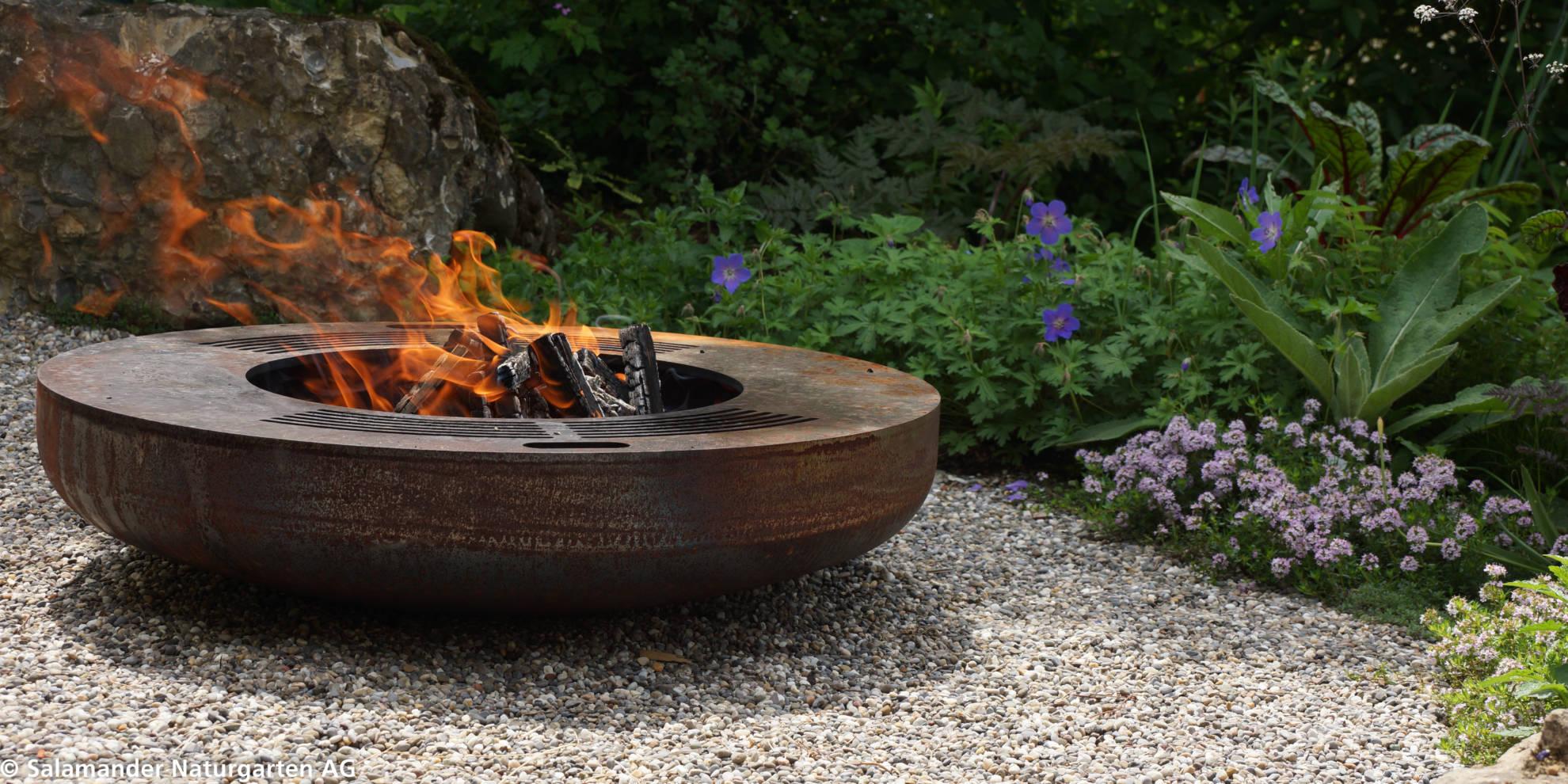 Feuer und Flamme für Naturgärten