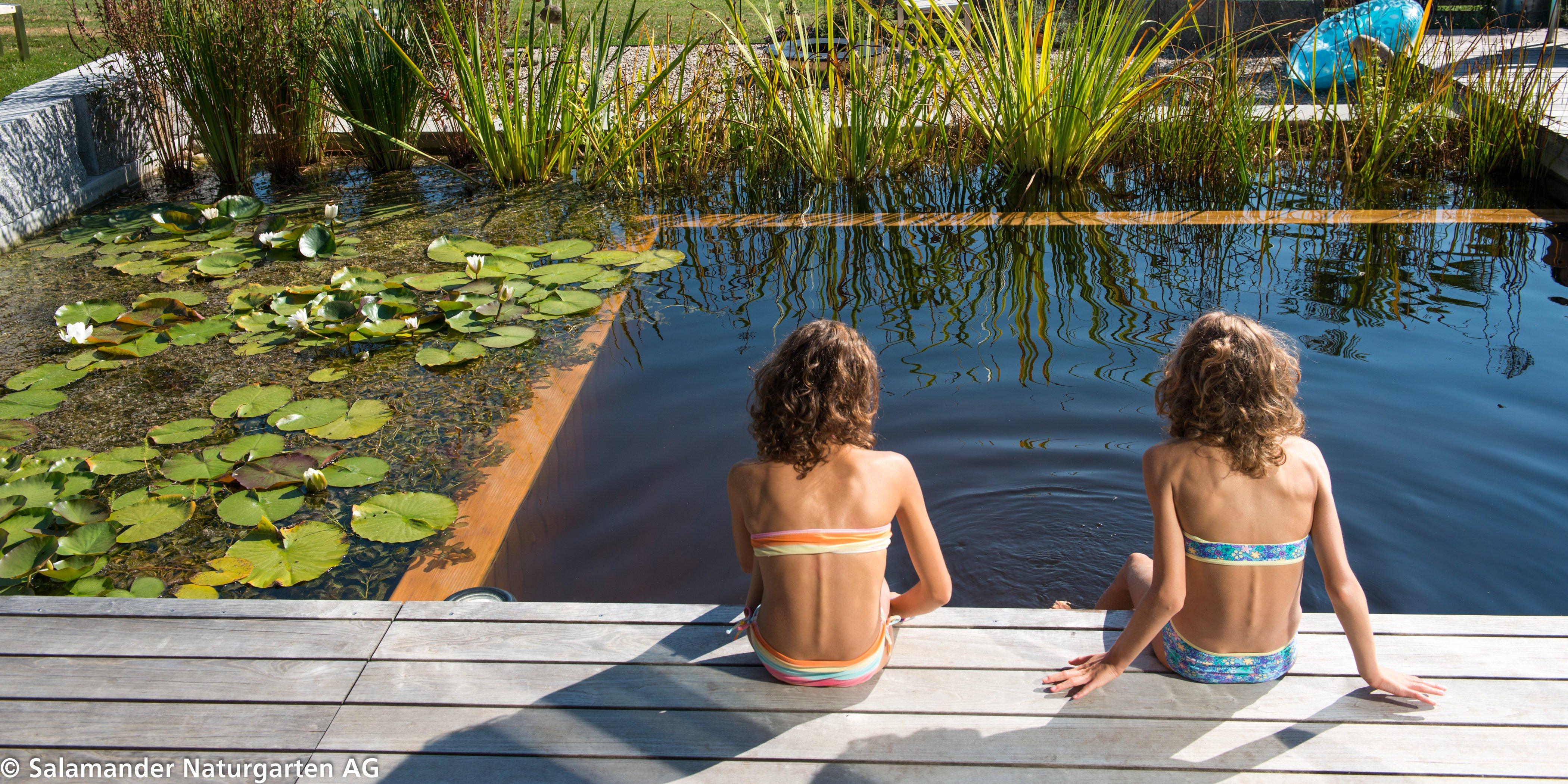 Naturpools und Schwimmteiche als Kompaktbecken