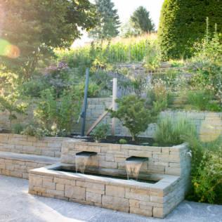 Trockenmauern in der Gartengestaltung