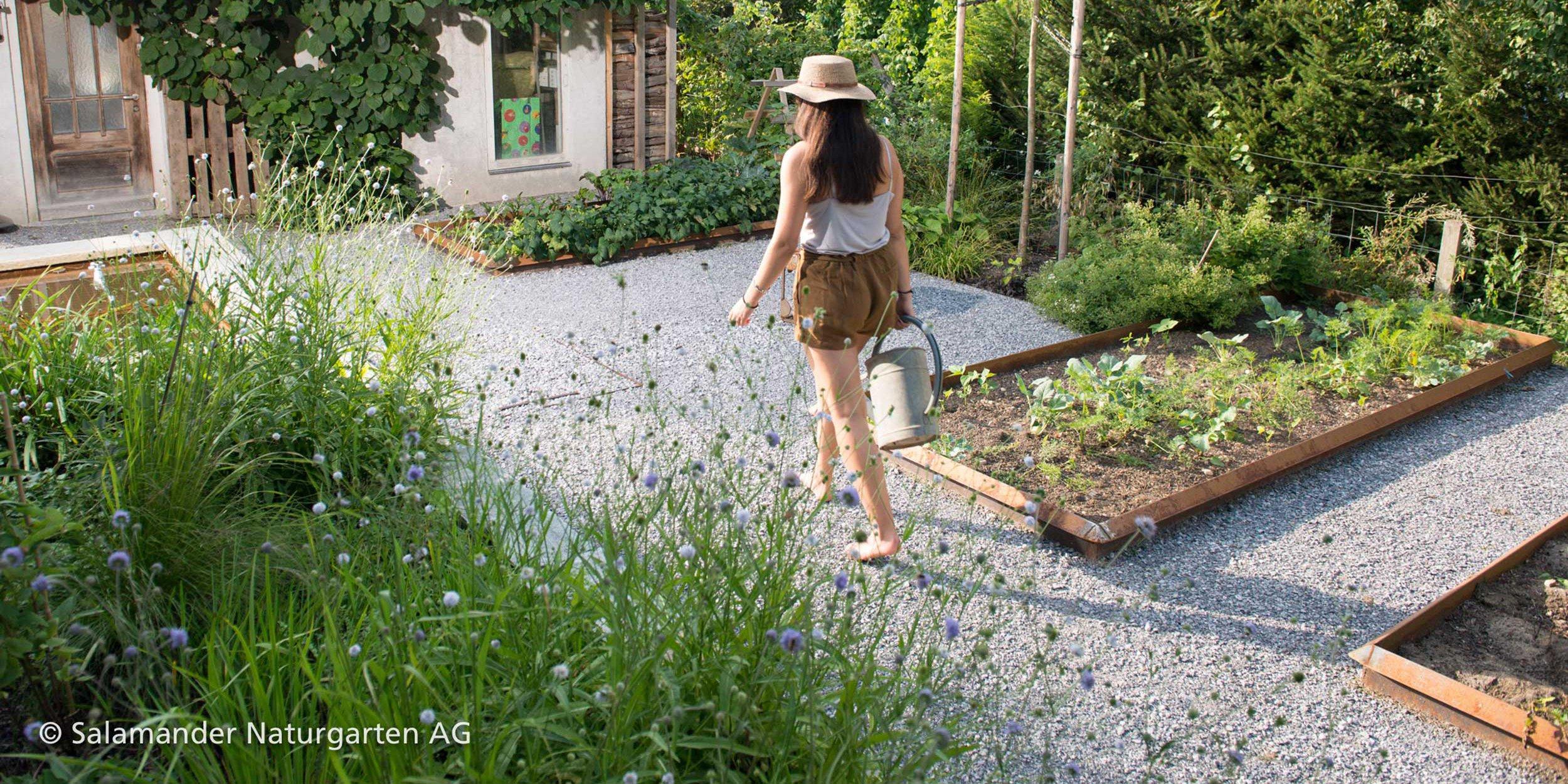 Gartenarbeiten, Nutzungsorte und eigene Ansichten