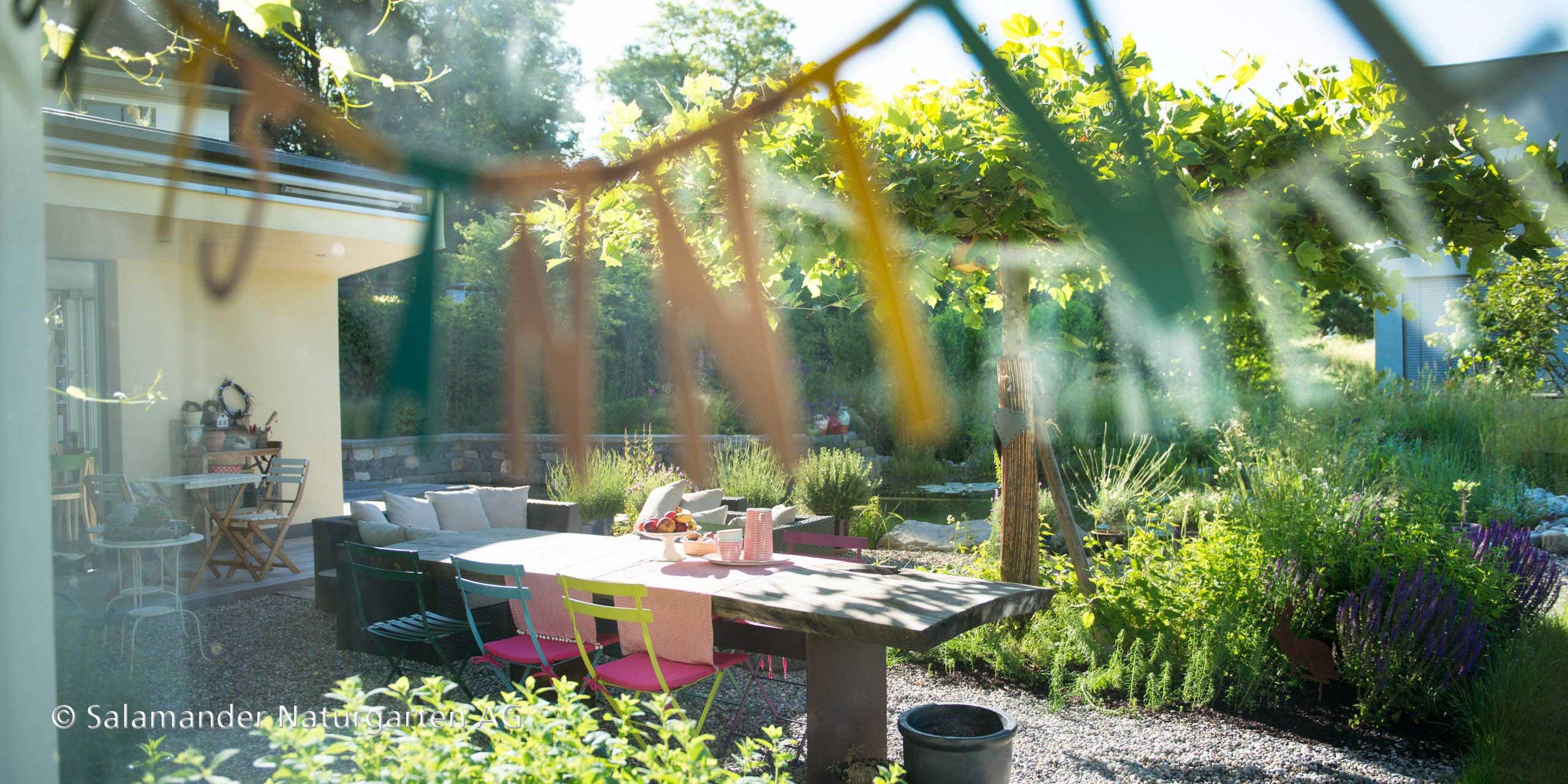 """""""Der Garten ist für mich eine Erweiterung des Wohnraumes."""""""