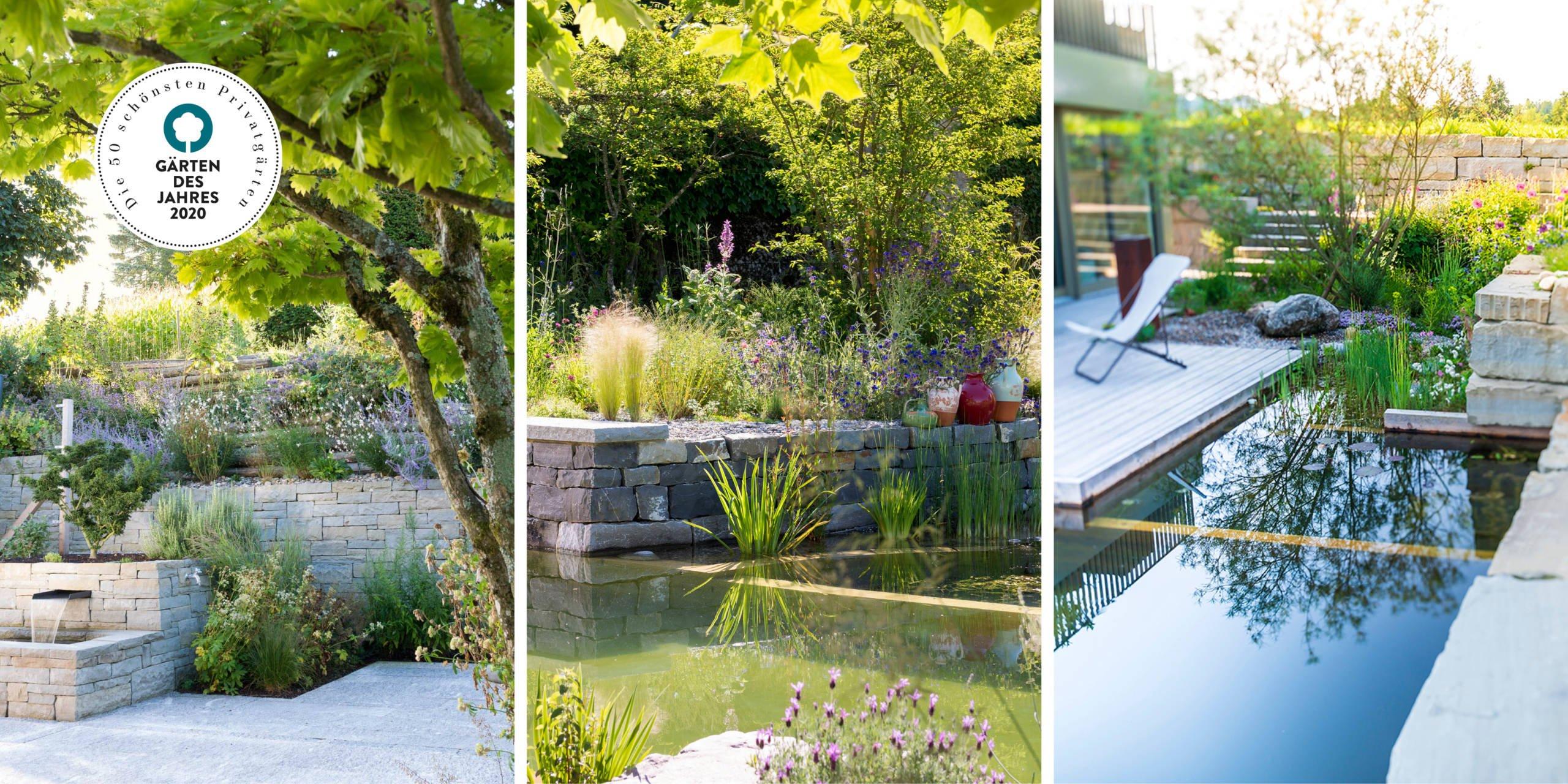 Unsere preisgekrönten Gärten