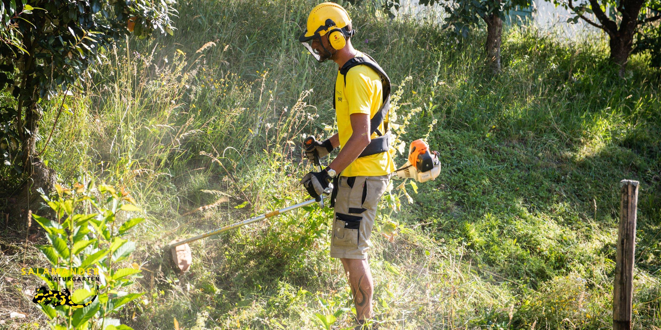 Wir bauen und pflegen naturnahe Gartenanlagen im gehobenen Privatsektor