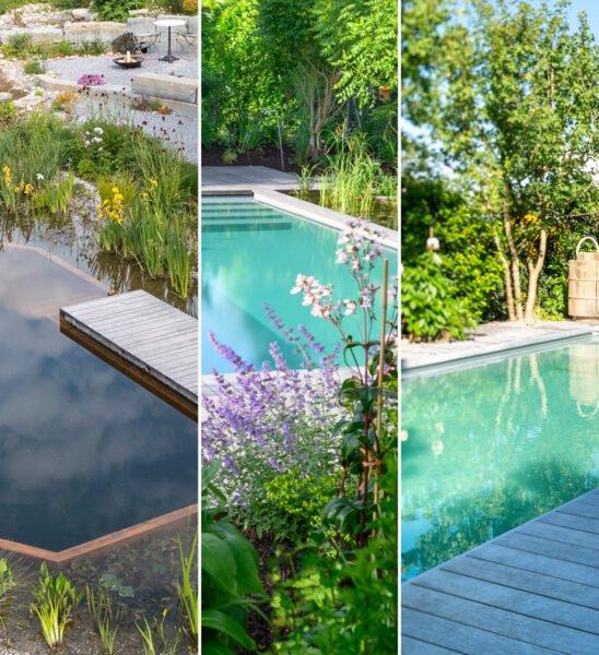 Naturbad Broschüre Schwimmteich Naturpool Biopool Titelbild